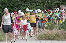 Детский лагерь и детские туры?