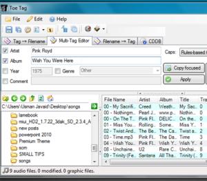 Toe Tag 0.4.3 – наведите порядок в своих файлах с аудио-записями