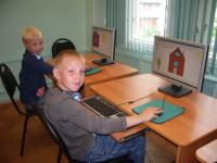 Обучение в лагере основам работы с компьютером