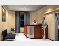 Дизайн офисного помещения для страховой компании