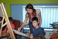 В компьютерный лагерь для детей экологические обои под покраску купить от Евростиль